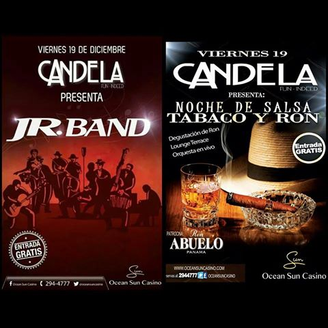 jr band - candela OCEAN SUN CASINO