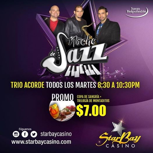 star bay martes de jazz