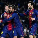 Triple empate en puntos y Barcelona por diferencia de goles vuelve a ser líder de la Liga BBVA