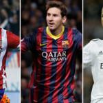 Quién ganará La Liga Española? (Atlético, Real o Barça)