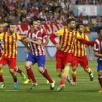 Barça y Atlético en partido que define la Liga Española