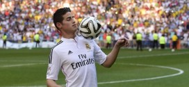 James Rodriguez, ahora es JR10 del Real Madrid