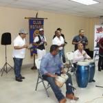 Clínica de percusión en Colón con Giancarlos Anderson