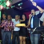 Sociedad Anónima en el Aniversario de FM96 en Colón
