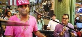 Ismael Miranda junto a Pirulo y su Tribu graban vídeo para especial del Banco Popular.