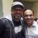 """Luis Enrique y Gilberto Santarosa en los ensayos de """"Pelaos con Salsa"""""""