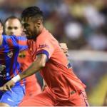 Barça sigue líder invicto al vencer 5-0 al Levante