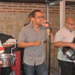 Víctor Jaramillo le puso salsa a Lomitos Bar Restaurant