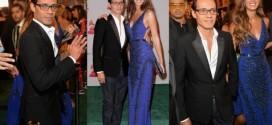 Marc Anthony y Shannon de Lima en Latin Grammy