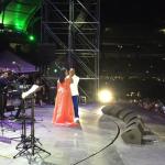 Willie Garcia ex-vocalista de Niche canta a duo con La India en Feria de Cali