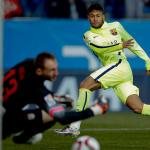 Barça elimina al Atlético con doblete de Neymar en Copa del Rey