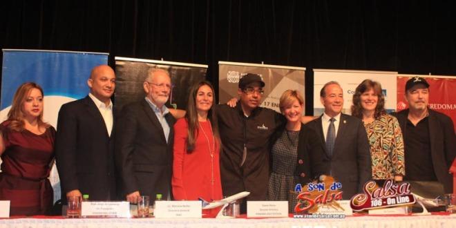 Ruben Blades y Danilo Perez en Conferencia de Prensa del Panama Jazz