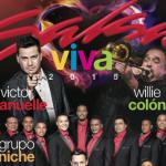 Grupo Niche, Victor Manuelle y Willie Colón hoy viernes 6 en Quito