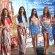 Reinas del Carnaval en la izada de bandera de Cerveza Atlas