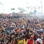 Se lleno el culeco del Lunes Carnaval en la Cinta Costera