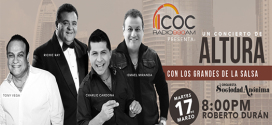 Se pospone evento con Richie Ray, Tony Vega, Ismael Miranda y Charlie Cardona en Panamá