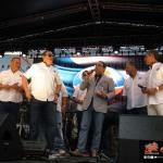 Gilberto Santarosa recibe premio Estrella en Día Nacional de la Zalsa