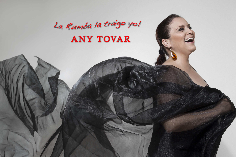 """Any Tovar y su nuevo disco """"La Rumba la traigo yo"""""""