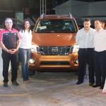 Nissan presenta nuevo Pick-Up Frontier en la Feria de Azuero.