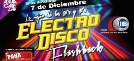 ElectroDisco Flashback con Wilfrido Vargas, Tabou Combo y Los Beachears