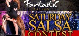 """Saturday Salsa Contest"" en Fantastic Casino"