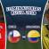 Chile y Colombia empatan 1-1 con goles de Vidal y James