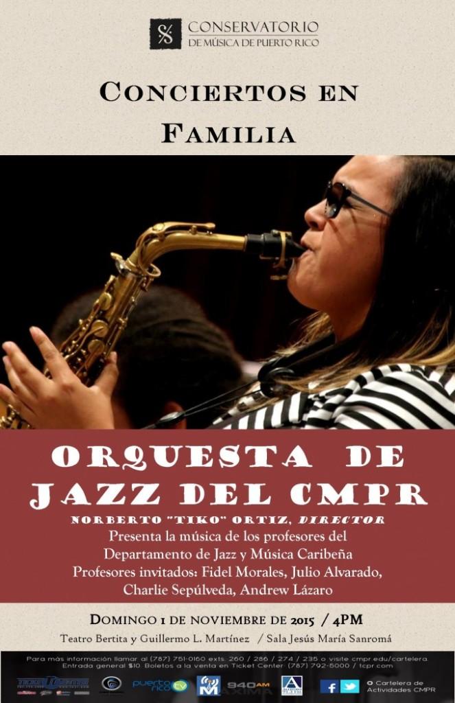 concierto de jazz en familia puerto rico