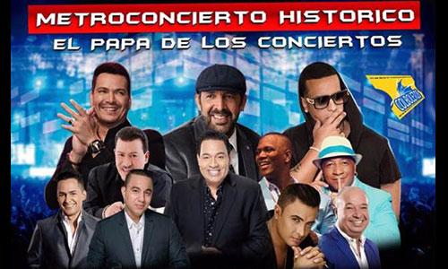 Víctor Manuelle, Tito Nieves, Tito Rojas en el Metro Concierto Feria de Cali