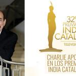 Charlie Aponte en los Premios India Catalina