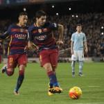 Barcelona FC aplasta 6-1 al Celta de Vigo