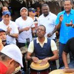 Luis Lugo con Oye la Clave y la Clave Morse en Colón