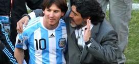 """Maradona apenado por Messi: """"Está solo; le llamaré para que siga"""""""