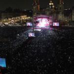 Marc Anthony puso a vibrar a más de 120mil espectadores en Zócalo México