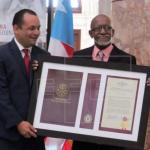 Roberto Roena homenajeado por el Senado de Puerto Rico por 60 años de carrera