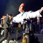 Marc Anthony llora la muerte de Juan Gabriel en su concierto en Radio City Music Hall
