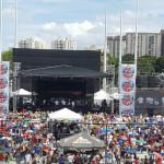 Fiesta salsera en aniversario de Z93 en Puerto Rico
