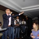 Pupy Santiago celebra triunfo de Panamá en su 1º show en Libar