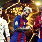Cristiano, Messi y Griezmann son los grandes candidatos para conquistar el Balón de Oro de 2016