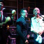 Ismael Rivera Jr. y Wichy Camacho en el aniversario de Yaré y Eric de Icaza