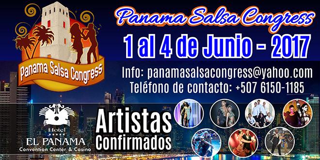 9ª Edición del Panama Salsa Congress 2017 del 1 al 4 de junio