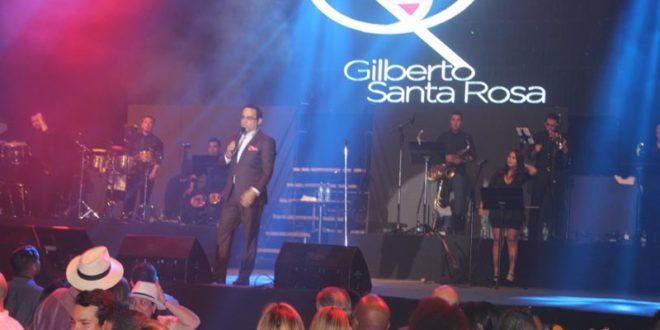 Gilberto Santarosa, Luis Enrique, Rey Ruíz y Gaitanes pusieron a gozar a Panamá
