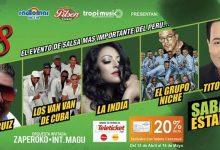 Las grandes orquestas de Colombia, Venezuela, Cuba y Puerto Rico llegan al Perú