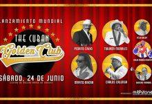 "Soneros cubanos llegan a Puerto Rico para presentar ""The Cuban Golden Club"""