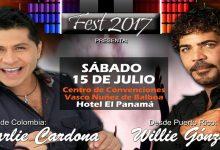 Willie Gonzalez y Charlie Cardona juntos en Panamá