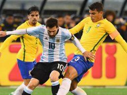 Argentina vence 1-0 a Brasil en amistoso realizado en Australia
