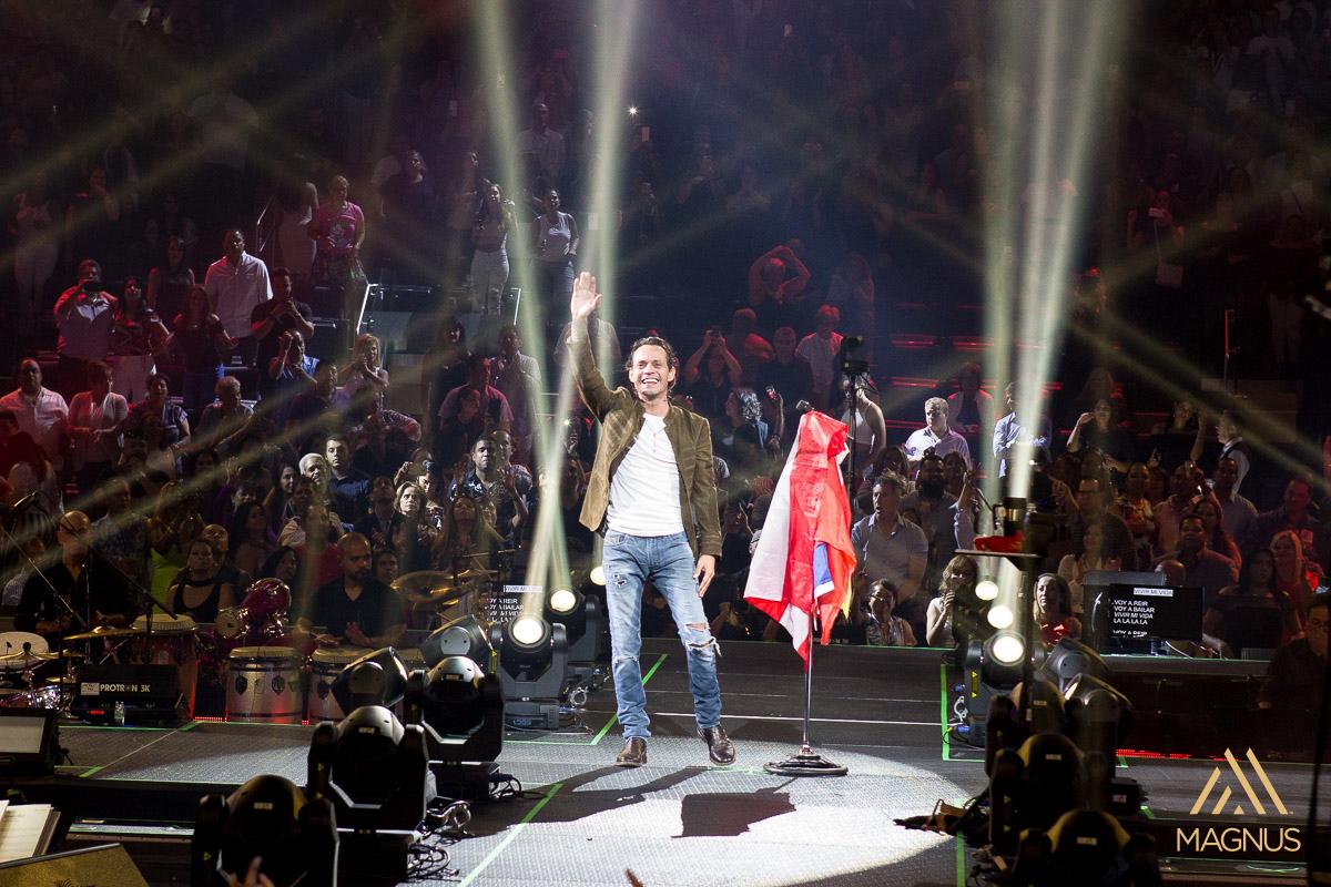 Marc Anthony Puso A Vibrar Una Vez M S El Madison Square Garden Nyc A Son De Salsa